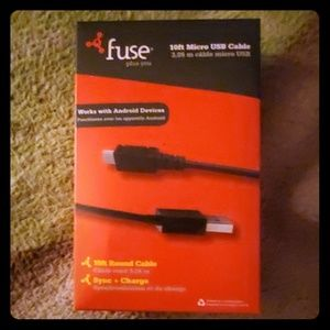 New and sealed 10 FEET Micro USB Cable